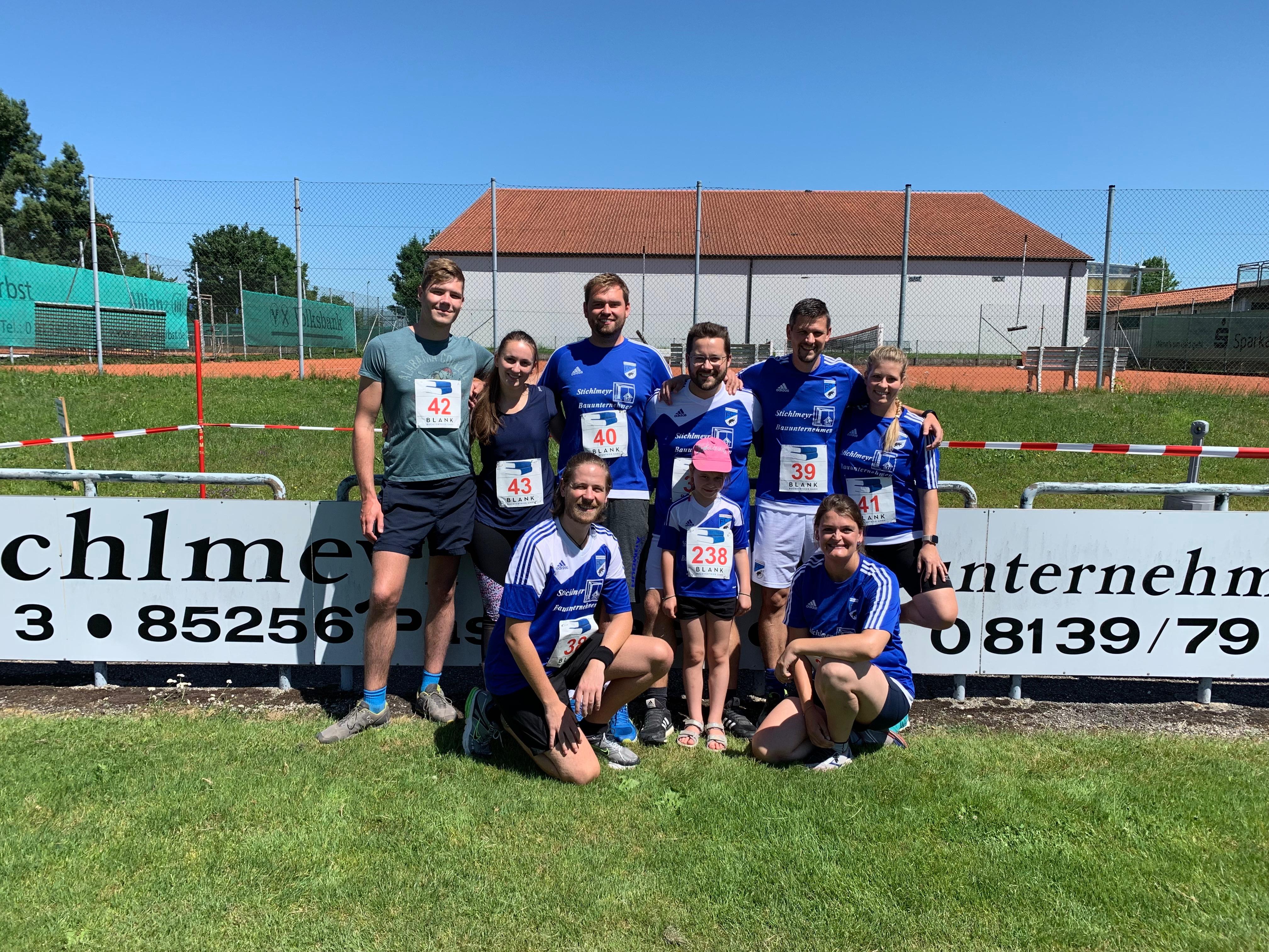 Der FC Pasenbach stellt beim 14. Turmlauf die meisten Teilnehmer