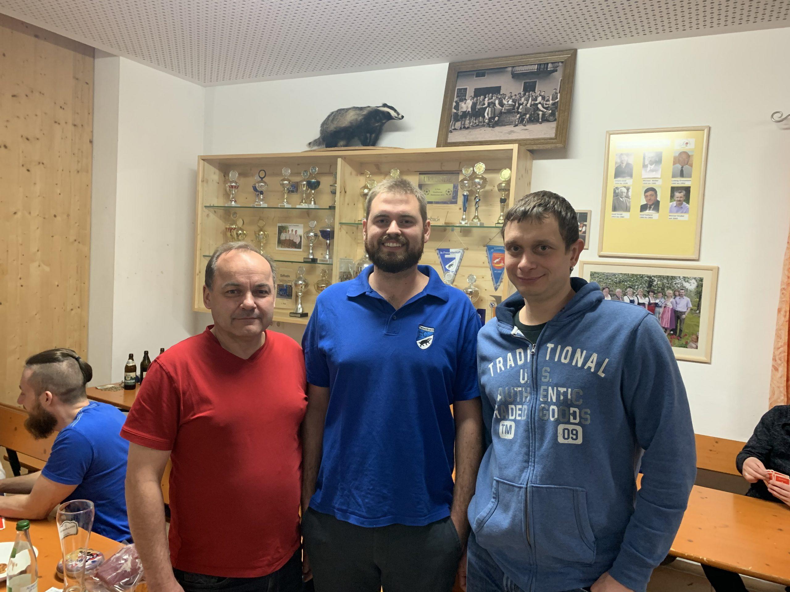 Schafkopfturnier des FC Pasenbachs